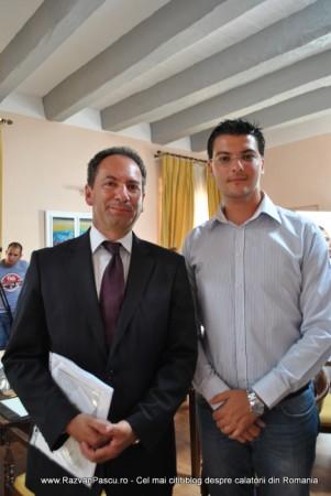 Razvan Pascu si ministrul turismului din Malta 12