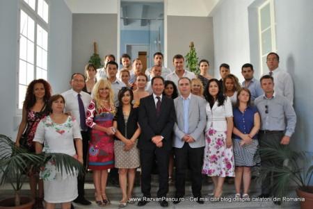 Razvan Pascu si ministrul turismului din Malta 13