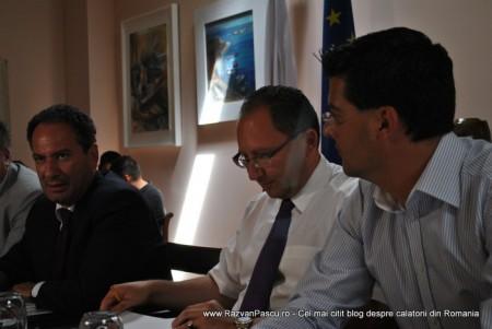 Razvan Pascu si ministrul turismului din Malta 3