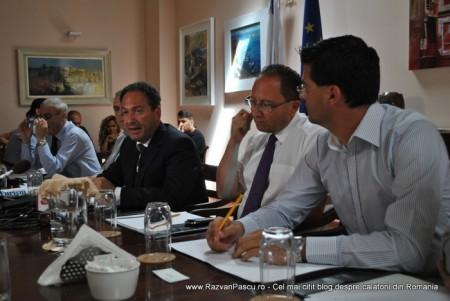 Razvan Pascu si ministrul turismului din Malta 6