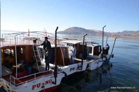Insulele Uros, lacul Titicaca, Peru 1