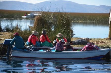 Insulele Uros, lacul Titicaca, Peru 10