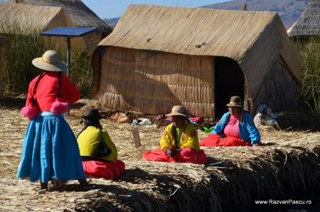 Insulele Uros, lacul Titicaca, Peru 12
