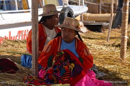 Insulele Uros, lacul Titicaca, Peru 15