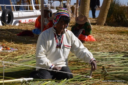 Insulele Uros, lacul Titicaca, Peru 16
