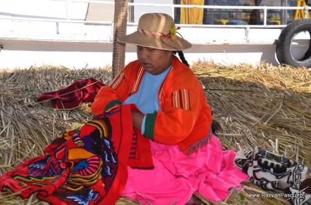 Insulele Uros, lacul Titicaca, Peru 17