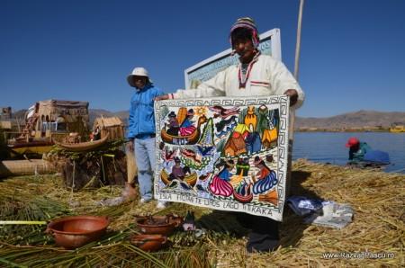 Insulele Uros, lacul Titicaca, Peru 18