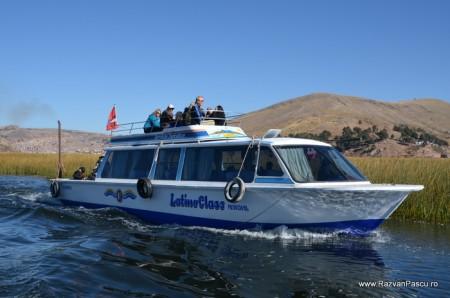 Insulele Uros, lacul Titicaca, Peru 2