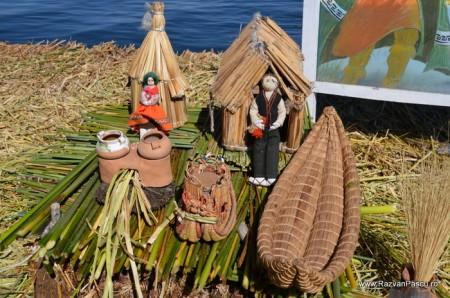 Insulele Uros, lacul Titicaca, Peru 21