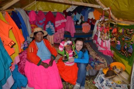 Insulele Uros, lacul Titicaca, Peru 24