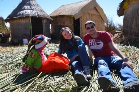 Insulele Uros, lacul Titicaca, Peru 29