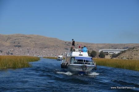 Insulele Uros, lacul Titicaca, Peru 3