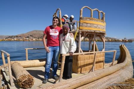 Insulele Uros, lacul Titicaca, Peru 30
