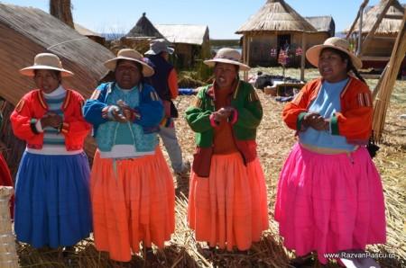 Insulele Uros, lacul Titicaca, Peru 31