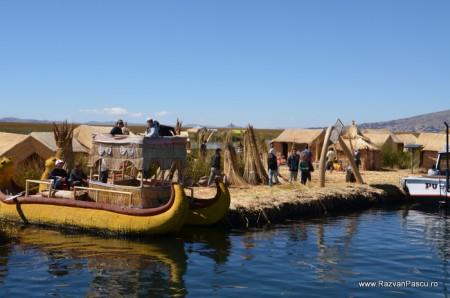 Insulele Uros, lacul Titicaca, Peru 32