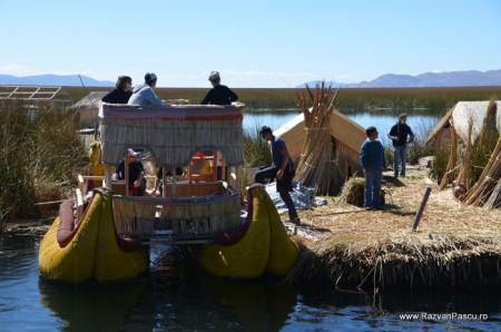Insulele Uros, lacul Titicaca, Peru 33
