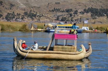 Insulele Uros, lacul Titicaca, Peru 34