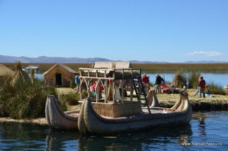Insulele Uros, lacul Titicaca, Peru 35