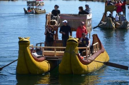 Insulele Uros, lacul Titicaca, Peru 36