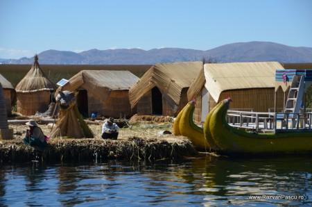 Insulele Uros, lacul Titicaca, Peru 37