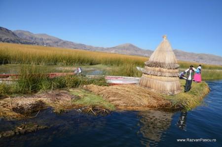 Insulele Uros, lacul Titicaca, Peru 4