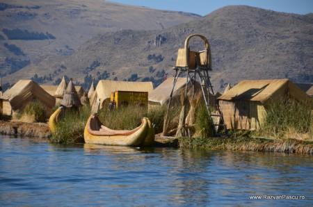 Insulele Uros, lacul Titicaca, Peru 5