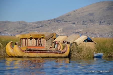 Insulele Uros, lacul Titicaca, Peru 6