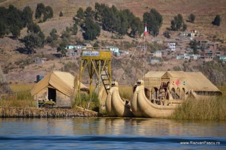 Insulele Uros, lacul Titicaca, Peru 7