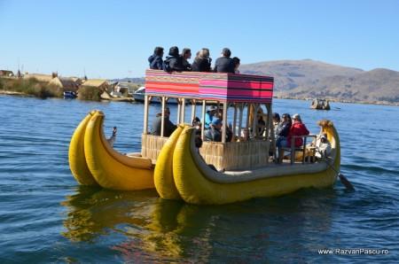 Insulele Uros, lacul Titicaca, Peru 8
