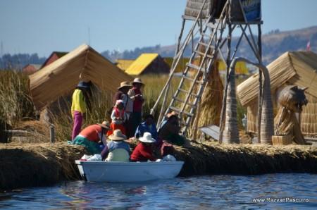 Insulele Uros, lacul Titicaca, Peru 9