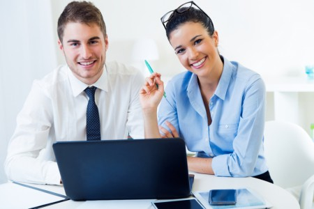 http://www.dreamstime.com/stock-images-business-people-working-office-laptop-portrait-image48675974