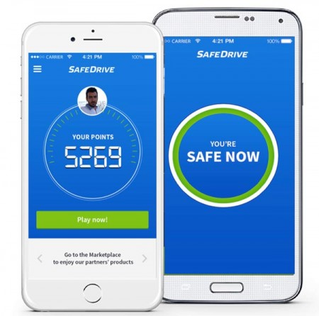 2SafeDrive_aplicatie