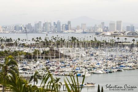 San Diego vazut de la Point Loma