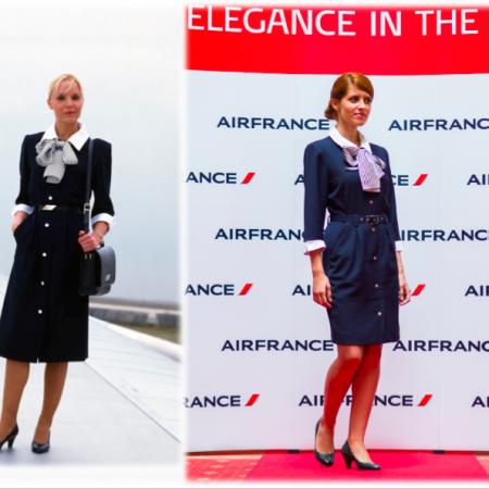 Air France uniforme 3