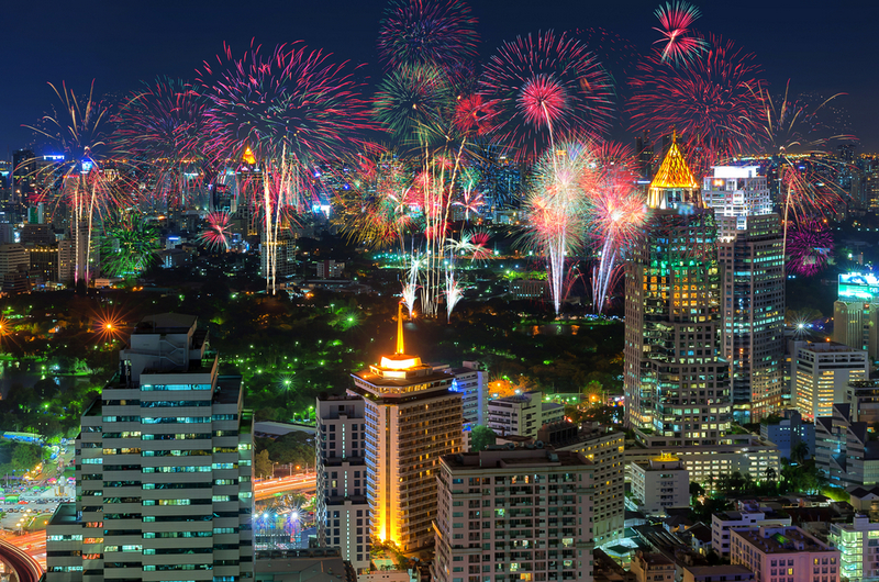 Bangkok, New Year- Copyright  24Novembers