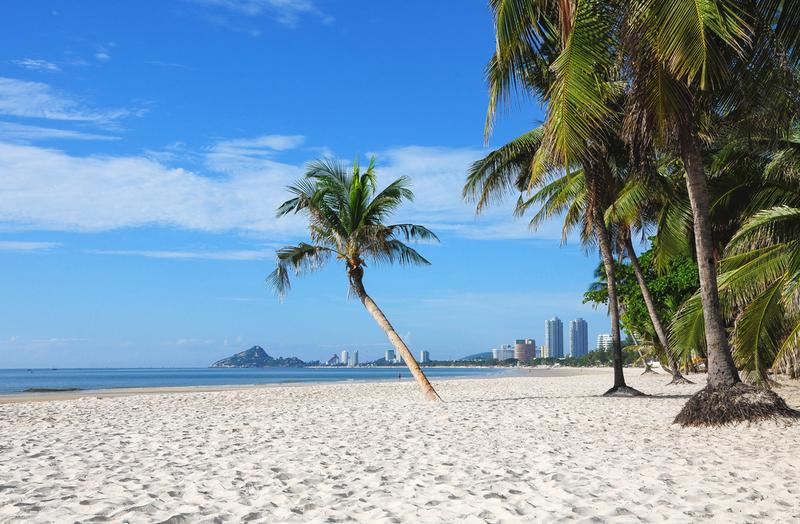Hua Hin beach, Copyright Kaban-Sila