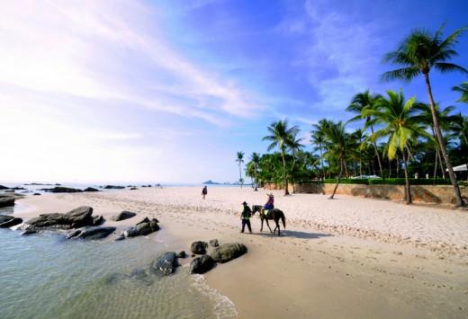 Hua Hin beach Thailand, Copyright Kaban-Sila