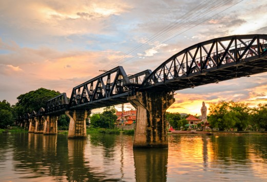 Kanchanaburi (Thailand), The Bridge on the River Kwai, Copyright Marco Saracco