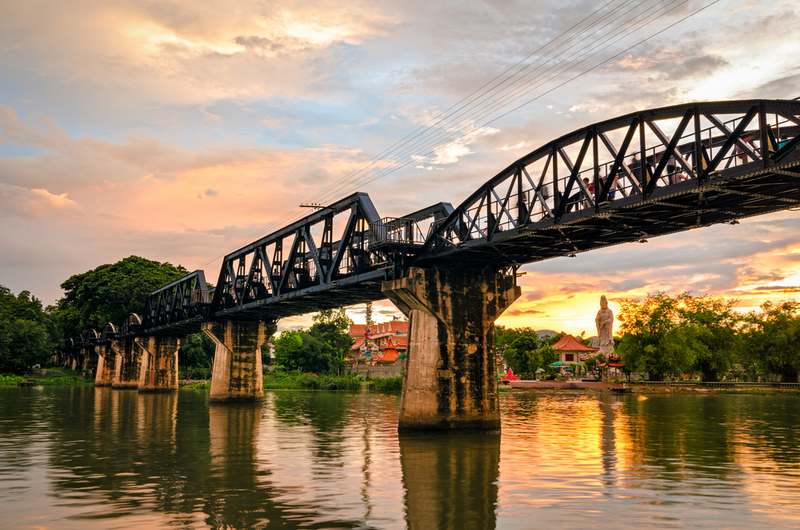 Kanchanaburi (Thailand), The Bridge on the River Kwai, Copyright Marco Saracco