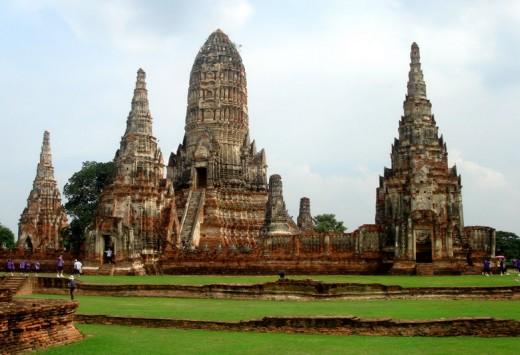 Tailanda 2007 - Ayuthaya - Wat Chaiwatthanaram