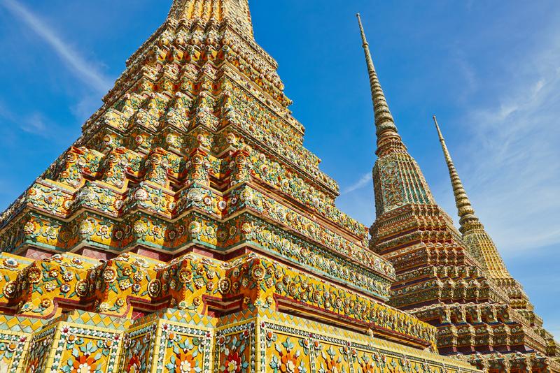 Temple Wat Pho in Bangkok - Thailand, Copyright Jaromir Chalabala