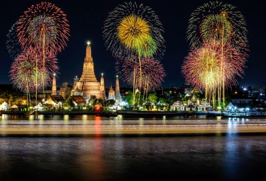 Wat arun temple- Copyright Prasit Rodphan