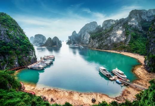 Ha Long Bay, South China Sea, Vietnam,