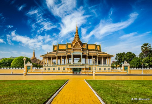 Royal Palace complex, Cambodia