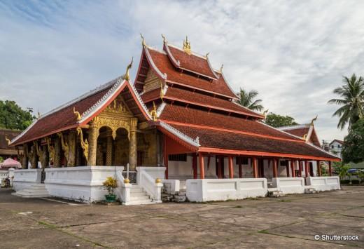 Wat Mai Monastery in Luang Prabang