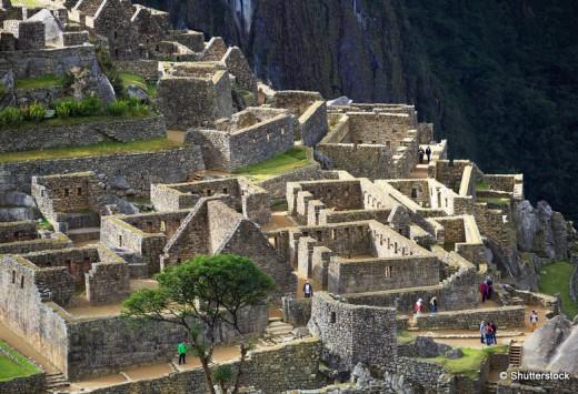 Machu Picchu, Peru, UNESCO World Heritage Site