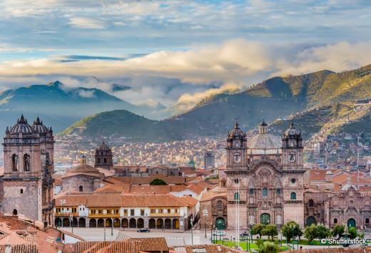 Plaza de armas, Cusco, City