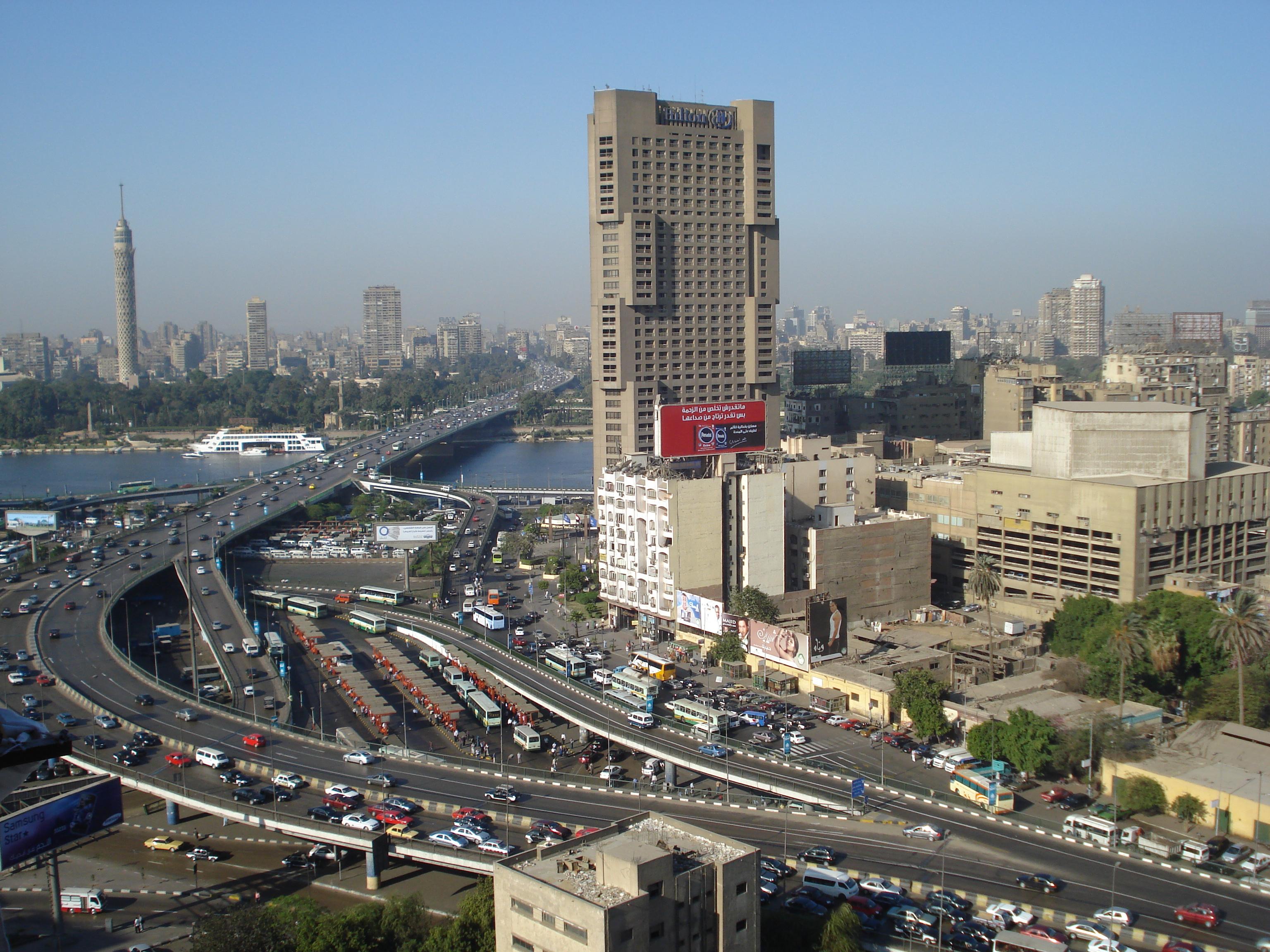 Cairo de la etajul 15
