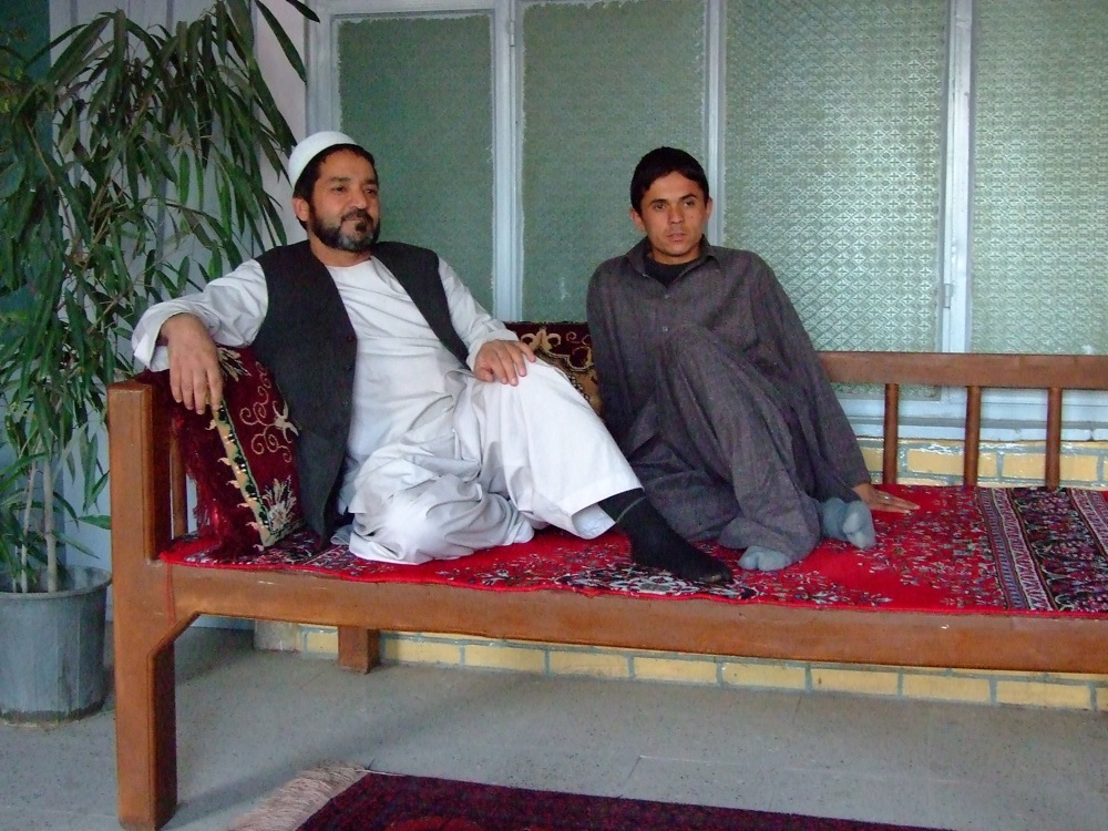Hotel Owner and Son HERAT AFGANISTAN
