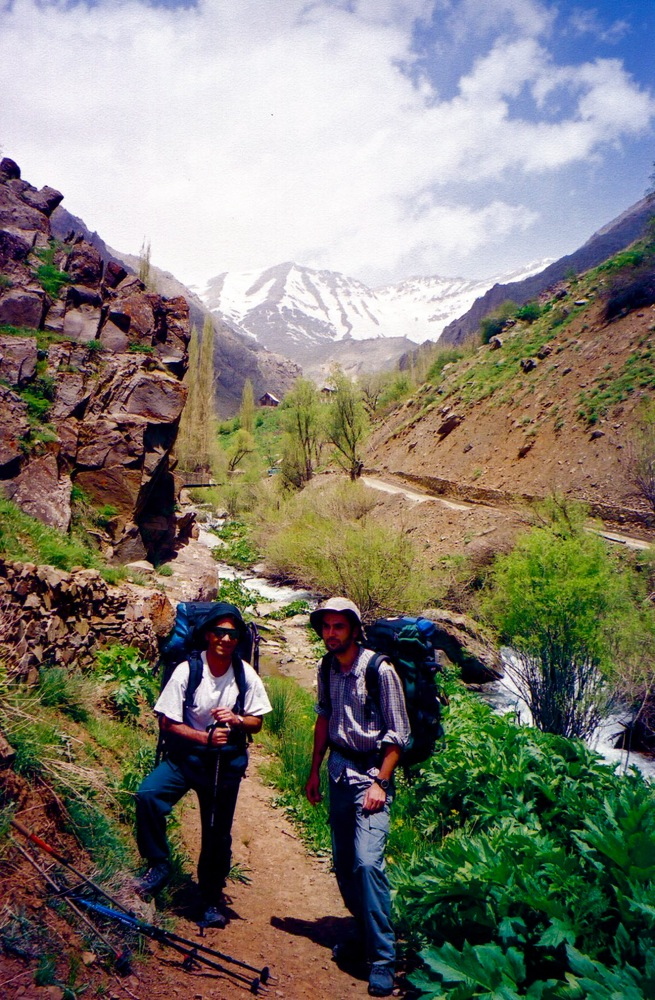 With Mohammad, Kholeno Mountains IRAN